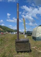 Печи, используемые в палатках Мобиба