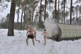 Мобиба МБ-442 зимой