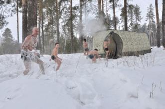 Зимние палатки с печкой Мобиба